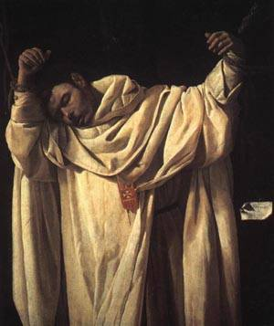 Saint Serapion 1628 | Francisco de Zurbaran | oil painting