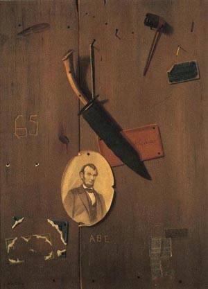 Reminiscences of 1865 1897   John F. Peto   oil painting