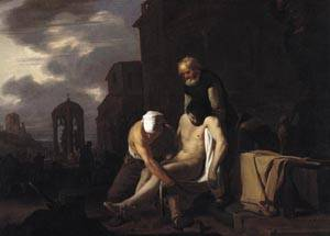 Burying the Dead 1650 | Michael Sweerts | oil painting