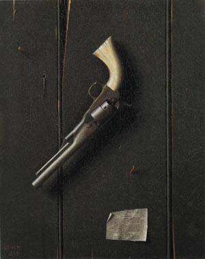 The Faithful Colt 1890 | William Michael Harnett | oil painting