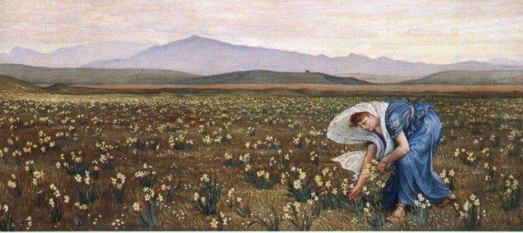 La Primavera | Walter Crane | oil painting