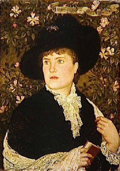 Mrs Walter Crane | Walter Crane | oil painting
