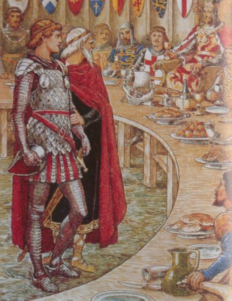 Sir Galahad | Walter Crane | oil painting