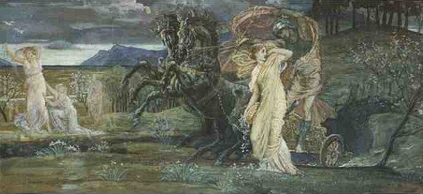 Study For The Fate Of Persephone | Walter Crane | oil painting