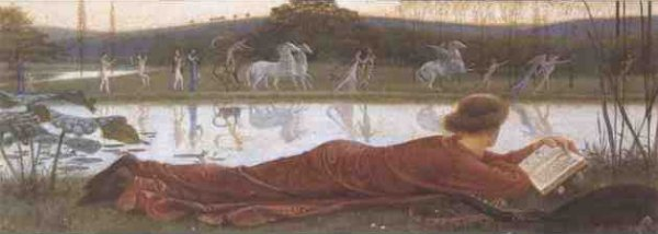 Such Sights As Youthful Poets Dream | Walter Crane | oil painting