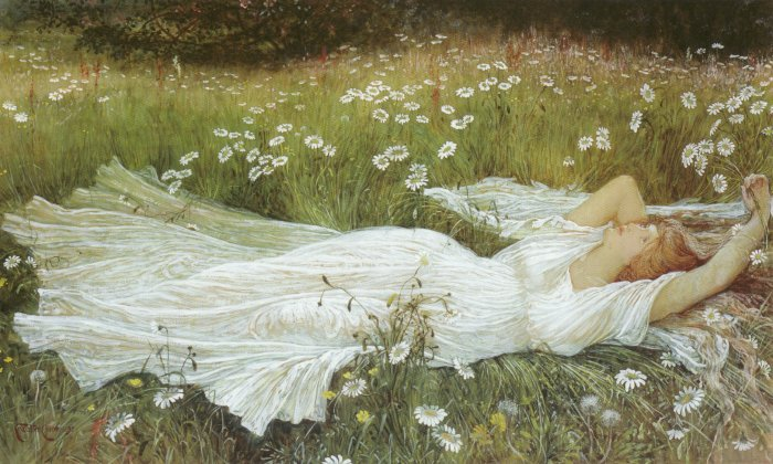 Summer | Walter Crane | oil painting