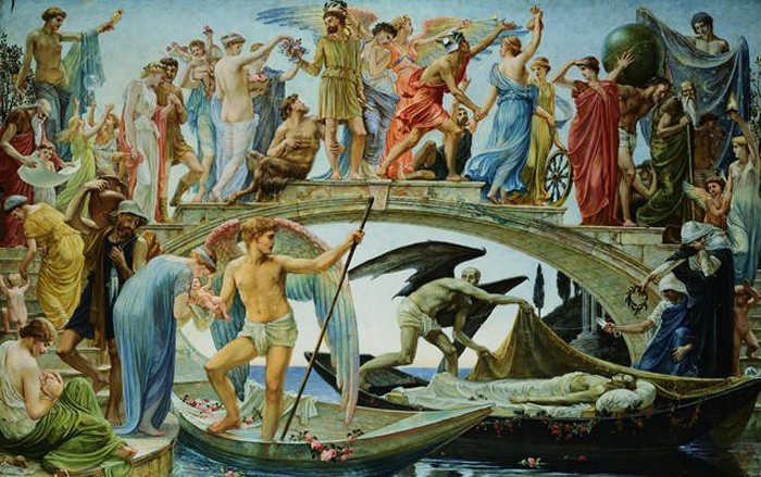 The Bridge Of Life | Walter Crane | oil painting