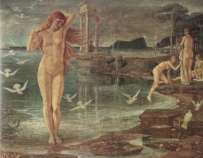The Renaissance Of Venus | Walter Crane | oil painting