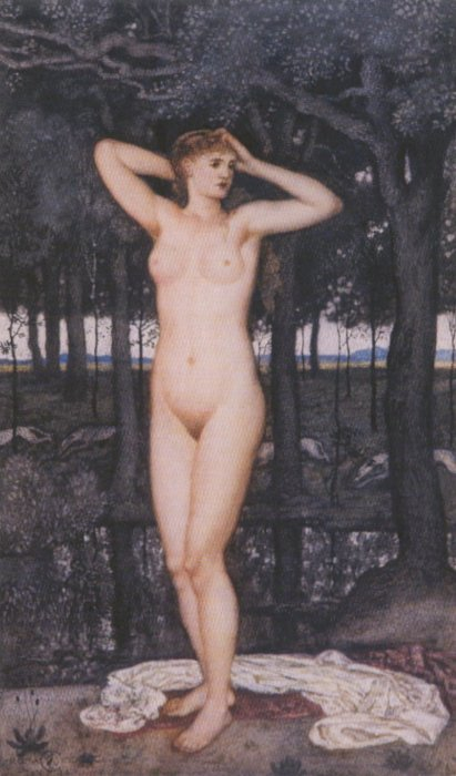 Venus | Walter Crane | oil painting