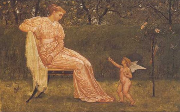 Venus And Cupid | Walter Crane | oil painting
