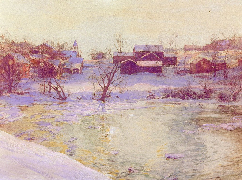Normansville | Walter Launt Palmer | oil painting