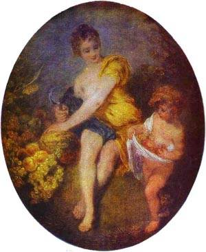 Autumn 1715 | Jean Antoine Watteau | oil painting