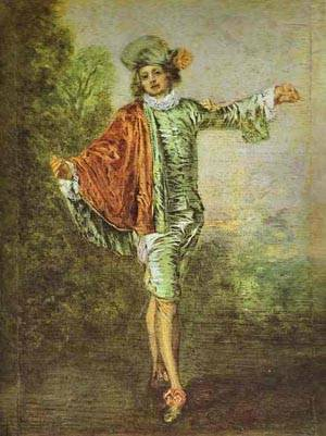 Lindiffrent (The Casual Lover) 1717 | Jean Antoine Watteau | oil painting