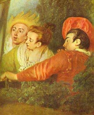 Pierrot Also Known As Gilles Detail 1721 | Jean Antoine Watteau | oil painting