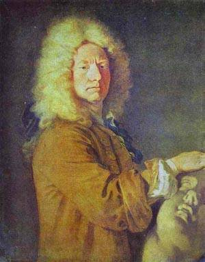 Portrait Of M Pater 1716 | Jean Antoine Watteau | oil painting