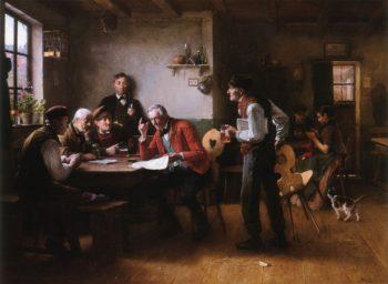 The Gossip | Wenceslas Vacslav Brozik | oil painting