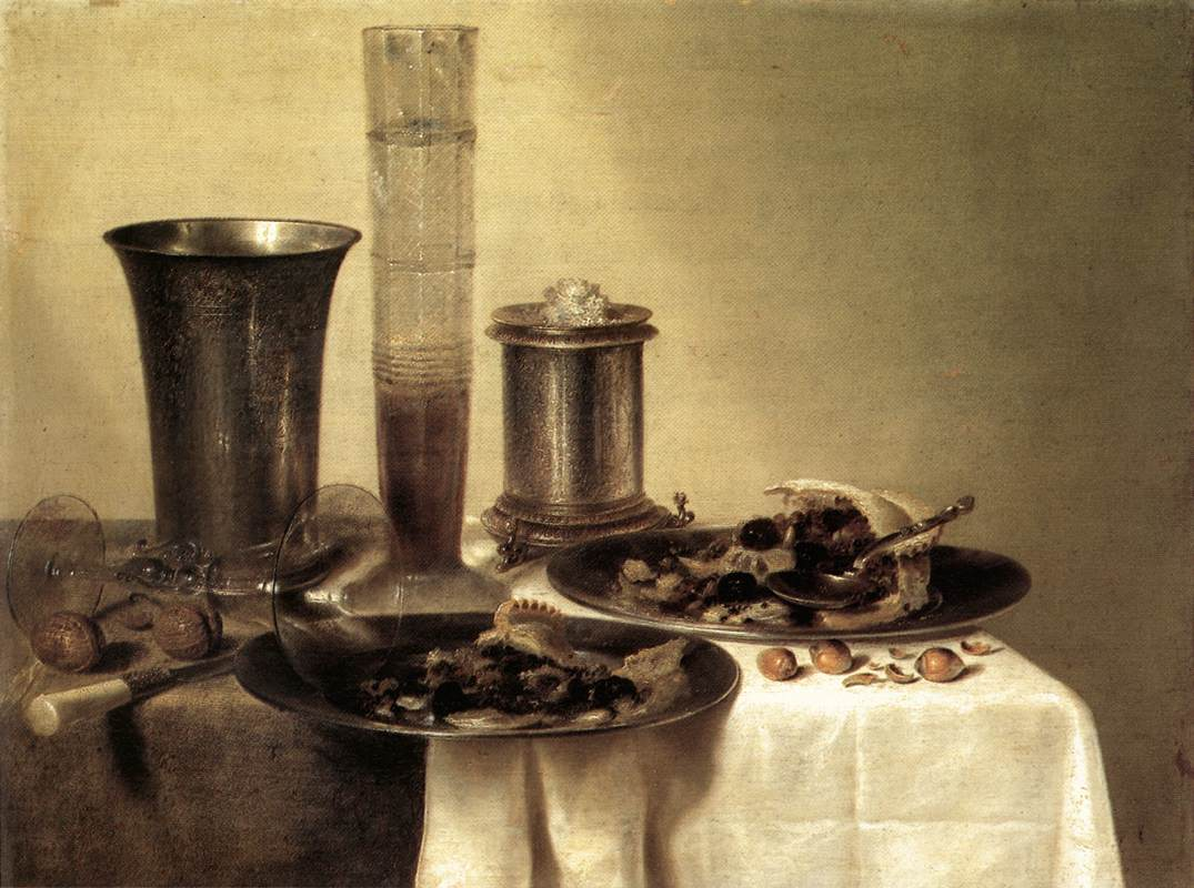 Breakfast Still Life 1637 | Willem Claesz Heda | oil painting