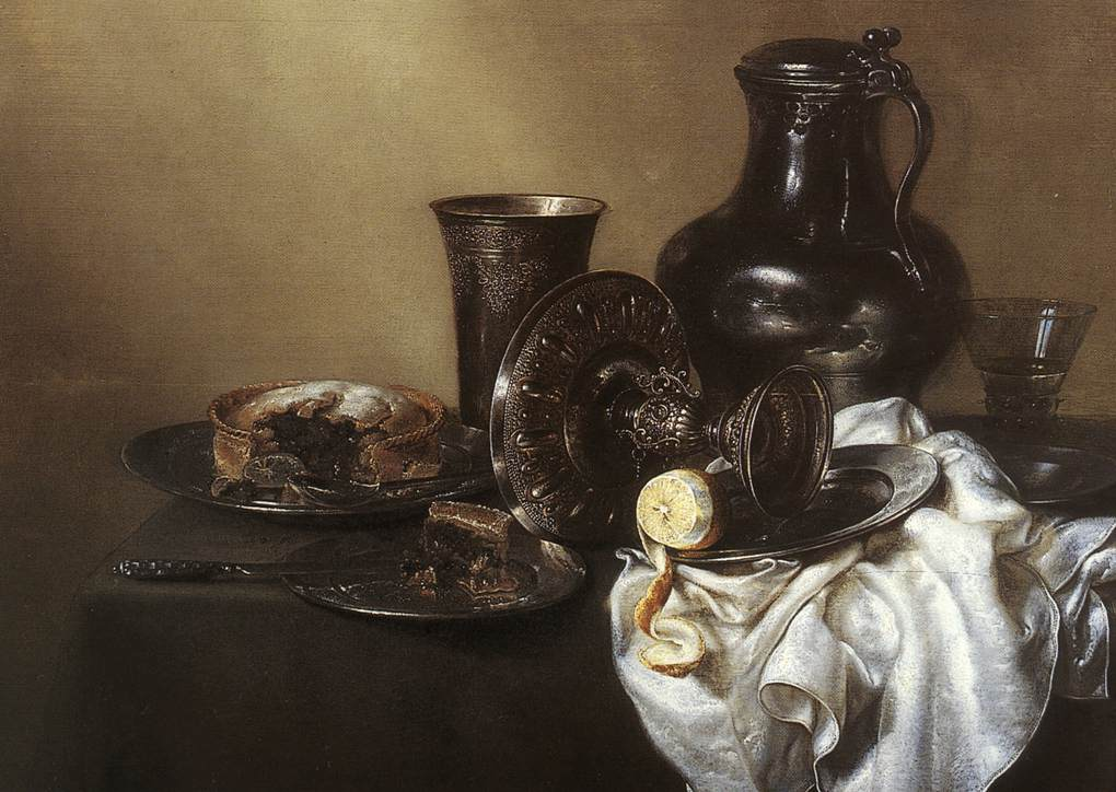 Still Life 1636 | Willem Claesz Heda | oil painting