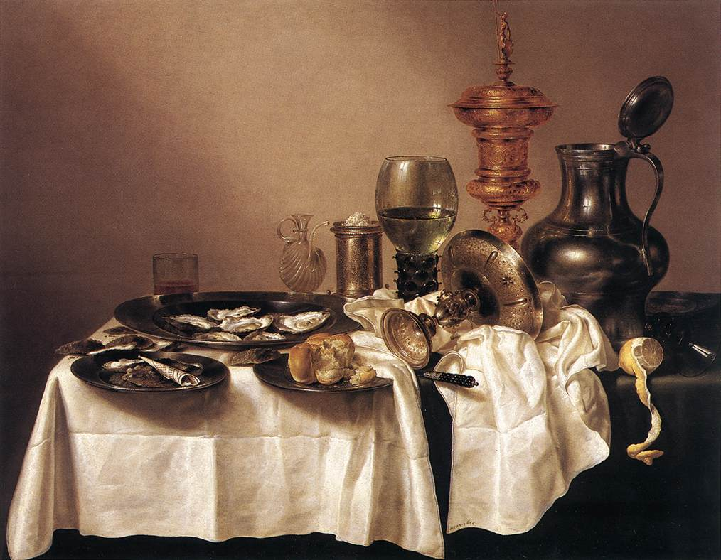 Still Life With Gilt Goblet | Willem Claesz Heda | oil painting
