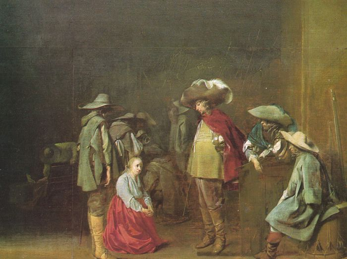 The Marauders | Willem Cornelisz Duyster | oil painting