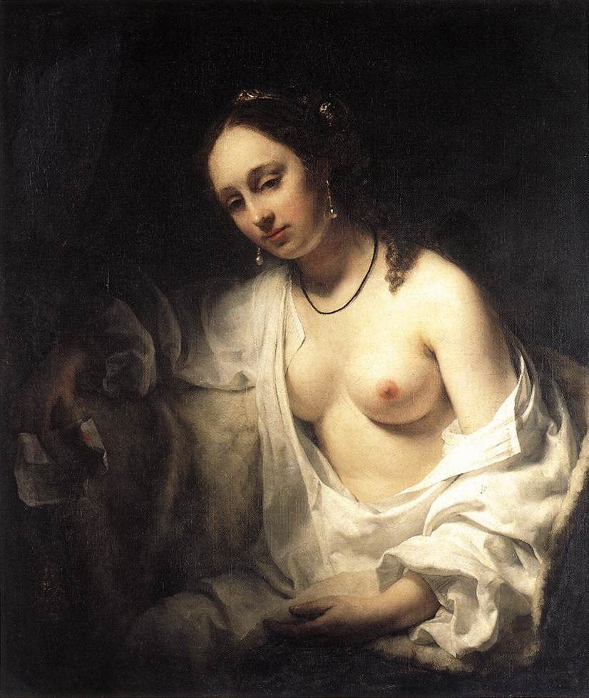 Bathsheba 1654 | Willem Drost | oil painting