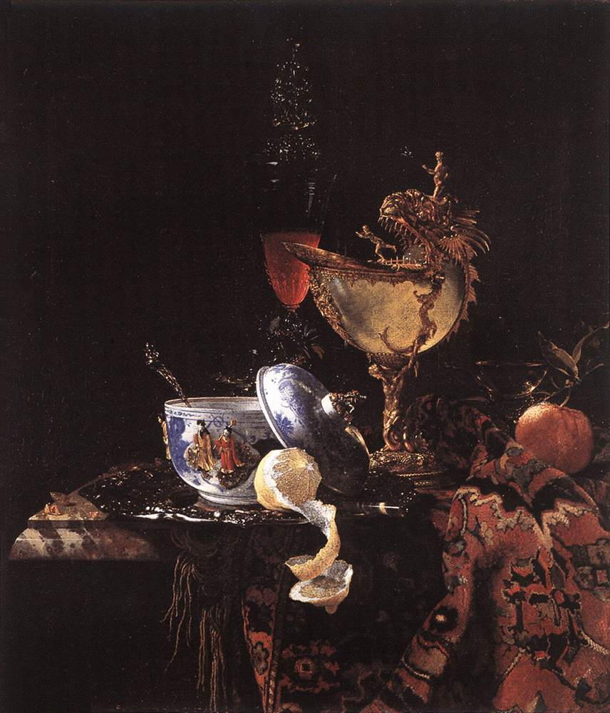 Still Life With A Nautilus Cup 1662 | Willem Kalf | oil painting