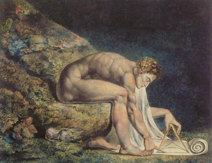Newton 1795-1805 | William Blake | oil painting