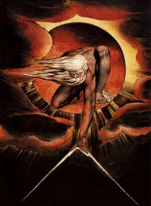 The Ancient of Days | William Blake | oil painting