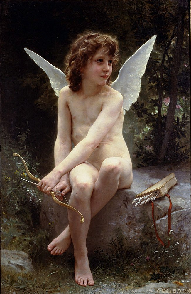 Amour A Laffut | William Bouguereau | oil painting
