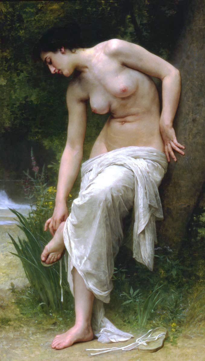 Apres Le Bain | William Bouguereau | oil painting