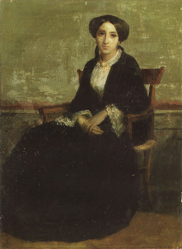 A Portrait Of Genevieve Bouguereau   William Bouguereau   oil painting