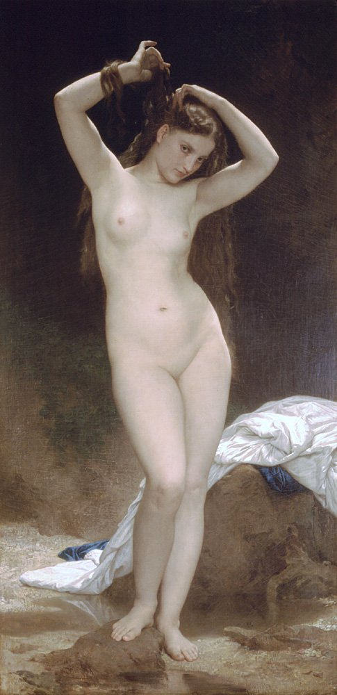 Baigneuse 1870 | William Bouguereau | oil painting