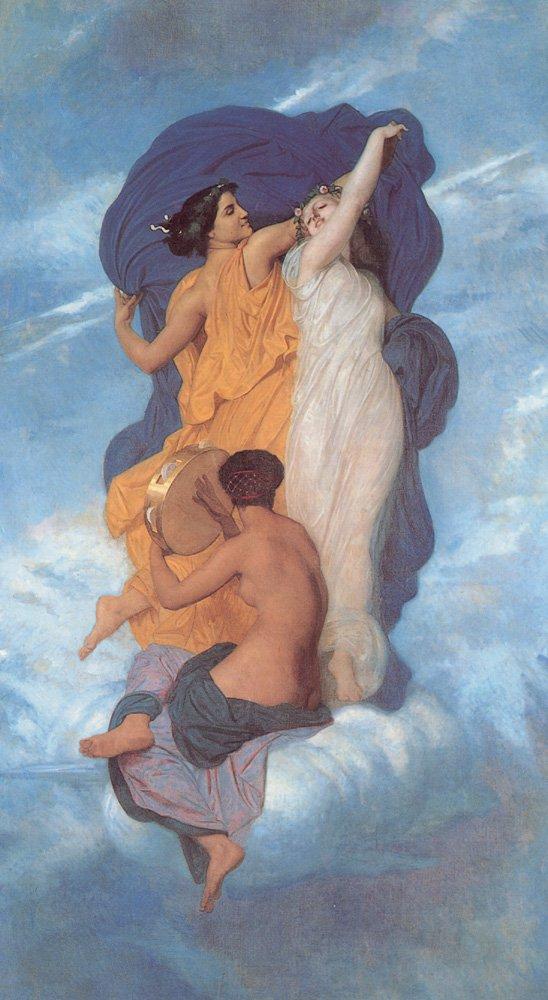 La Danse | William Bouguereau | oil painting