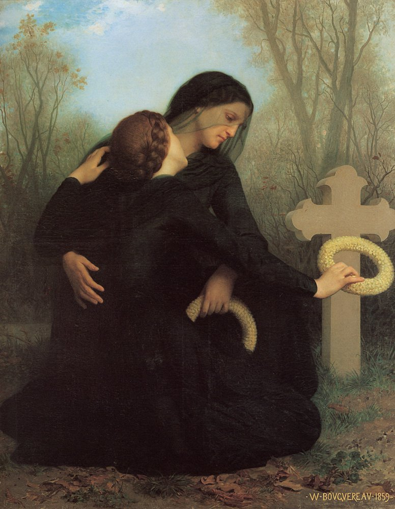 Le Jour Des Morts | William Bouguereau | oil painting