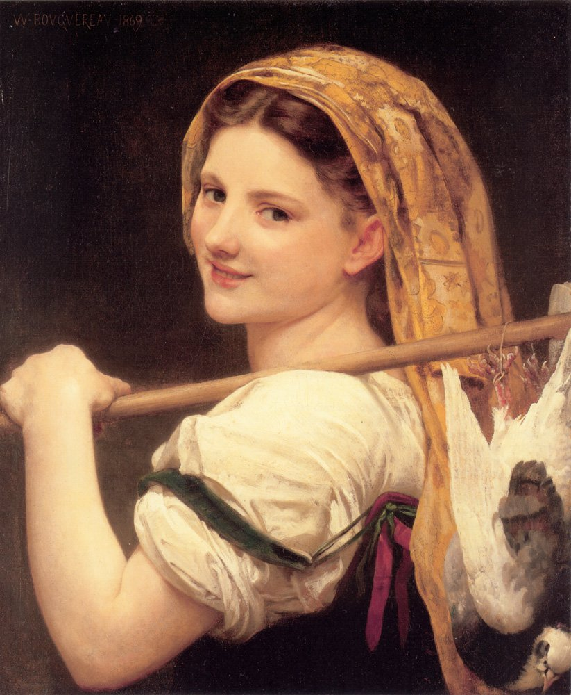 Le Retour Du Marche | William Bouguereau | oil painting