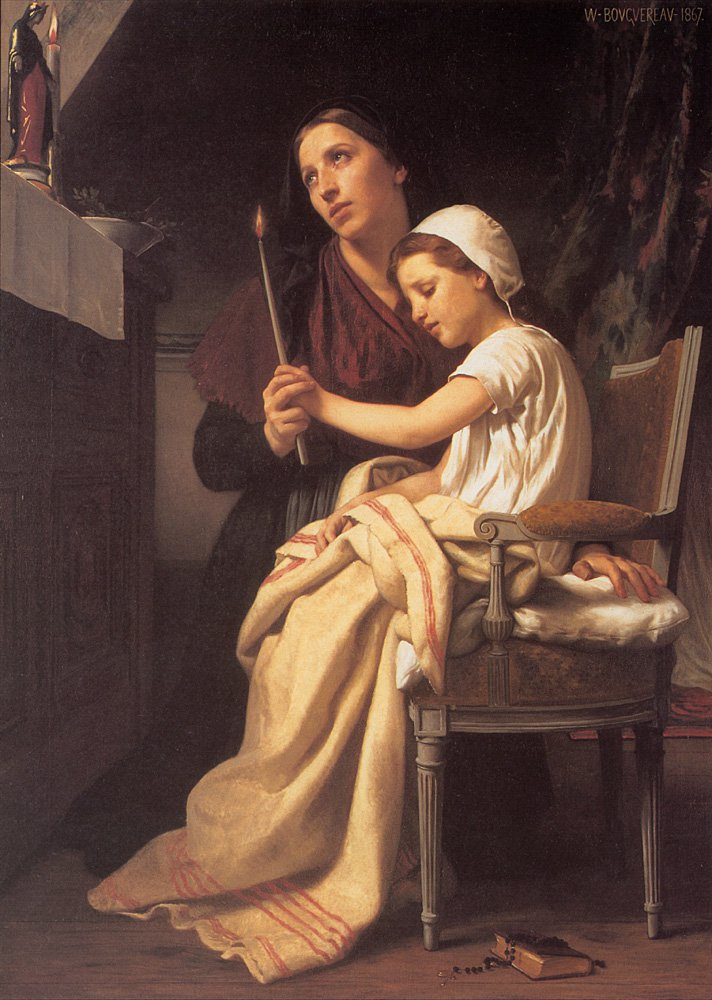 The Thank Offering | William Bouguereau | oil painting