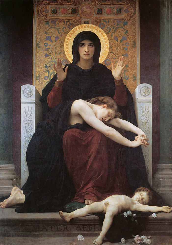 Vierge Consolatrice | William Bouguereau | oil painting