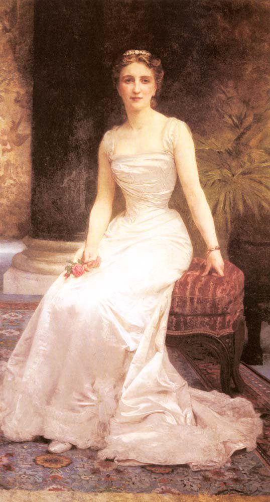 Portrait Of Madame Olry Roederer | William Bouguereau | oil painting