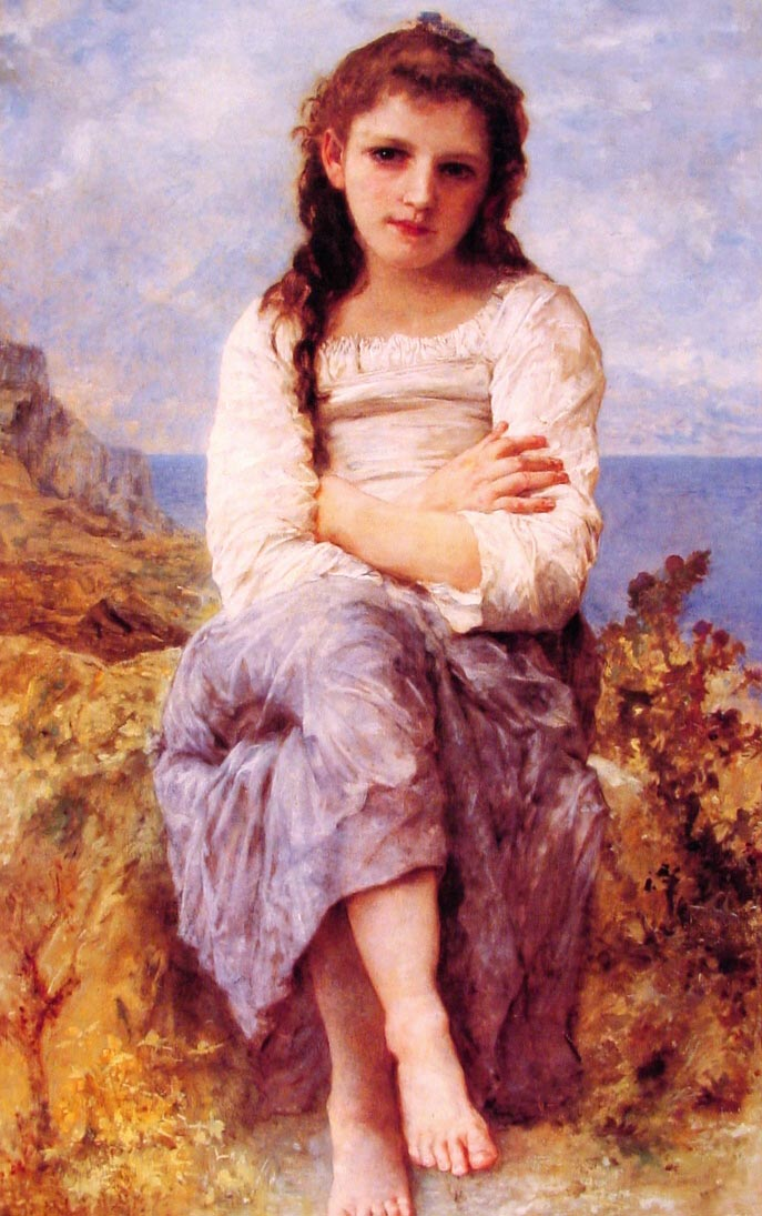 Far Niente | William Bouguereau | oil painting