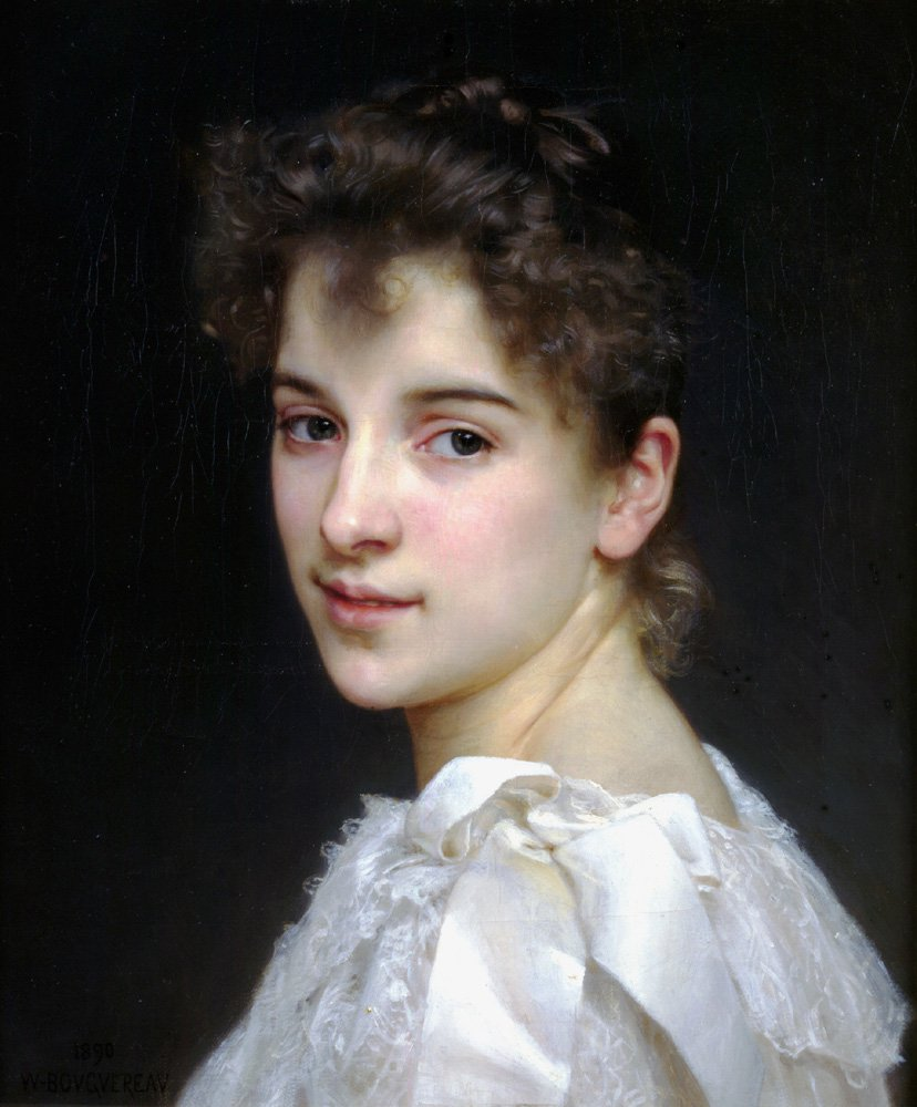 Gabrielle Cot 1890 | William Bouguereau | oil painting
