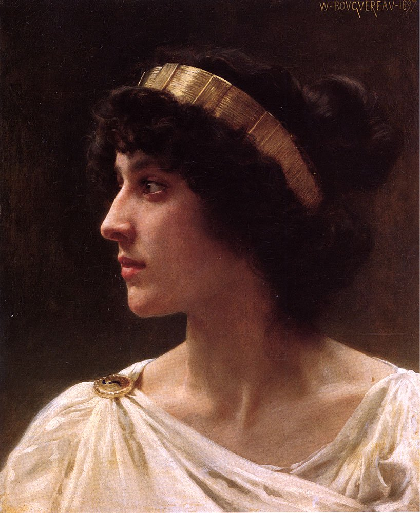 Irene | William Bouguereau | oil painting