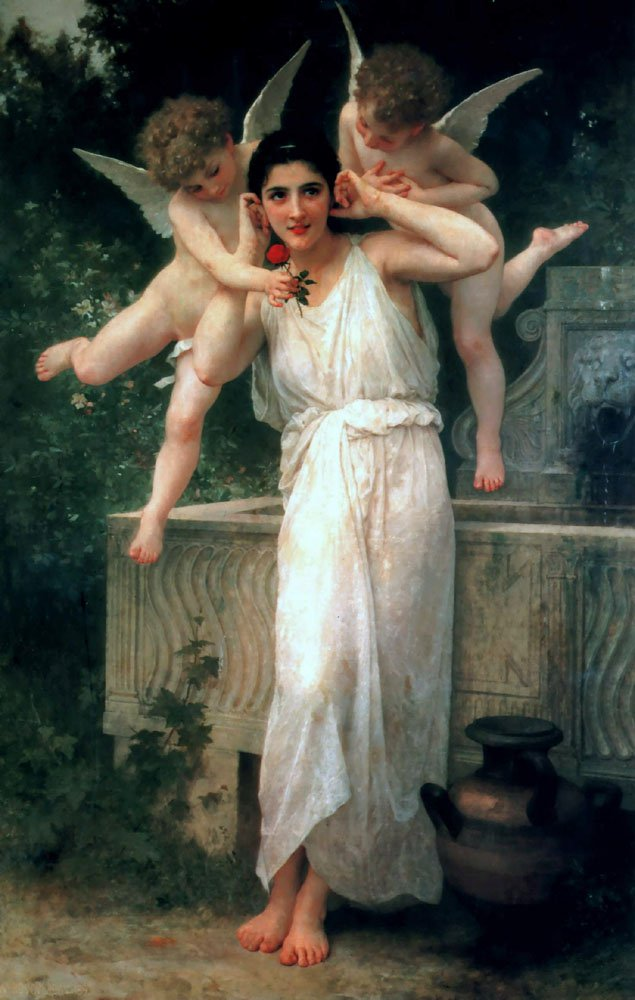 Jeunesse | William Bouguereau | oil painting