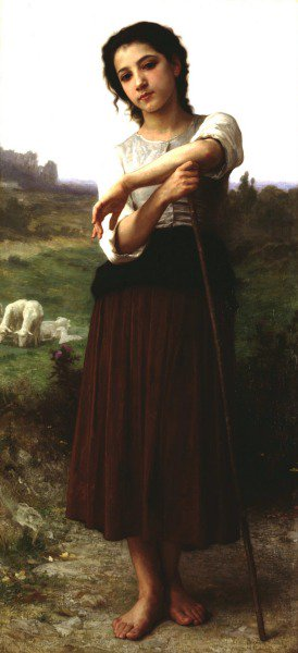 Jeune Bergere | William Bouguereau | oil painting