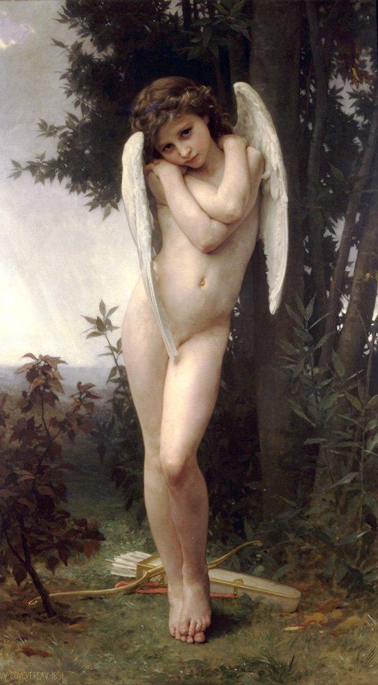 Lamour Mouille | William Bouguereau | oil painting