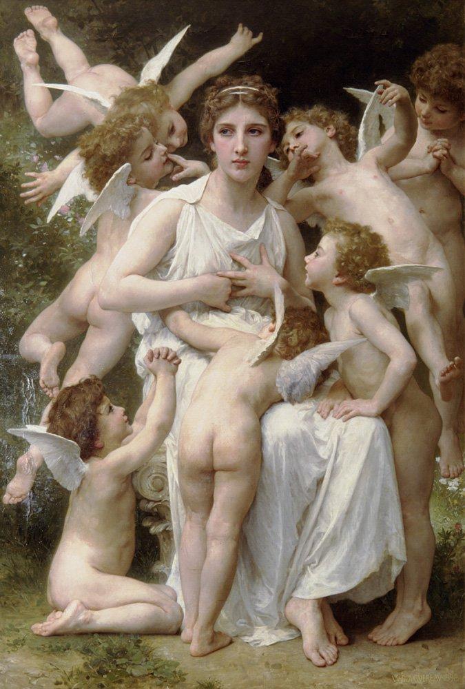 Lassaut | William Bouguereau | oil painting