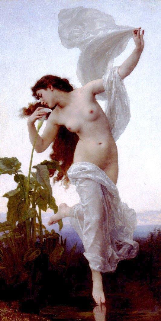 Laurore   William Bouguereau   oil painting