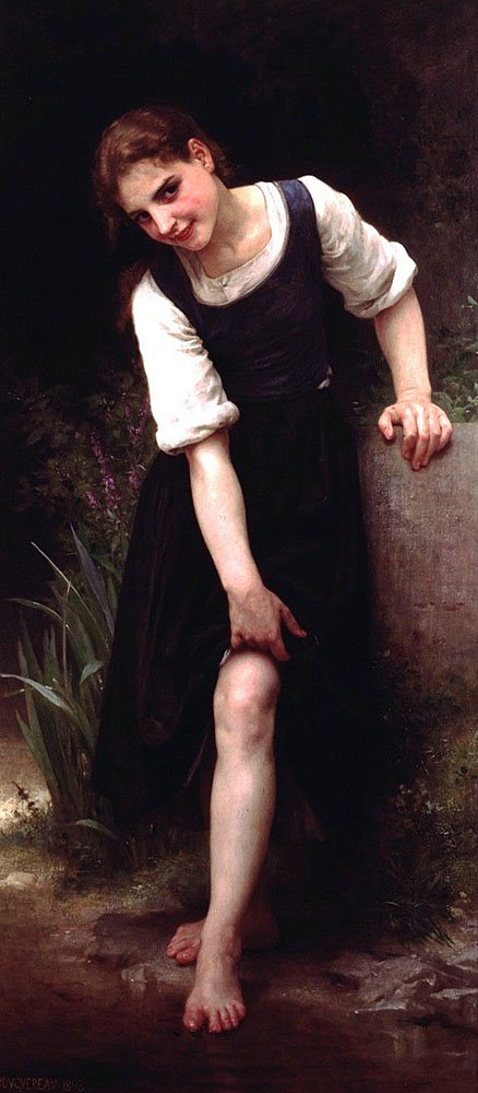 La Gue | William Bouguereau | oil painting