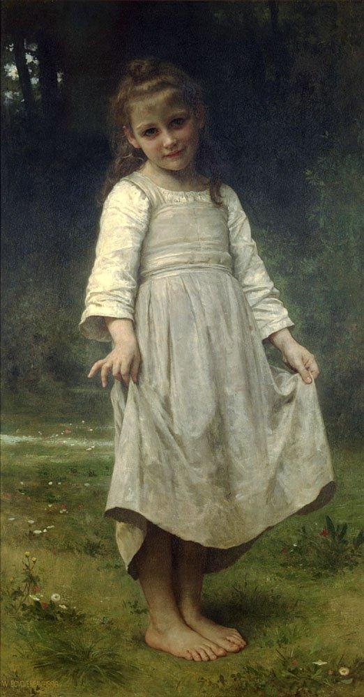 La Reverence | William Bouguereau | oil painting