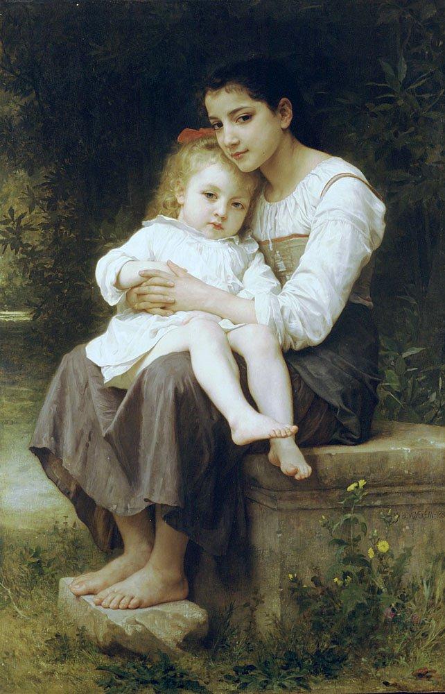 La Soeur Ainee | William Bouguereau | oil painting