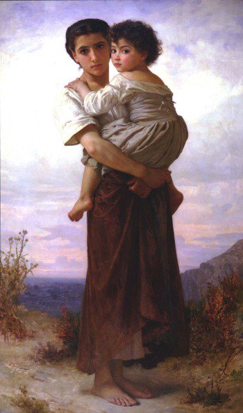 Les Bohemmiennes | William Bouguereau | oil painting